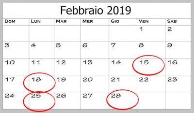 Le scadenze fiscali di febbraio 2019: Iva e fattura elettronica