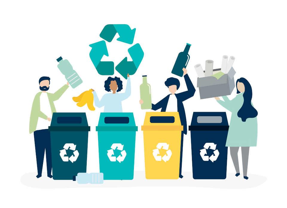 Riciclo rifiuti, l'Italia è prima in Europa